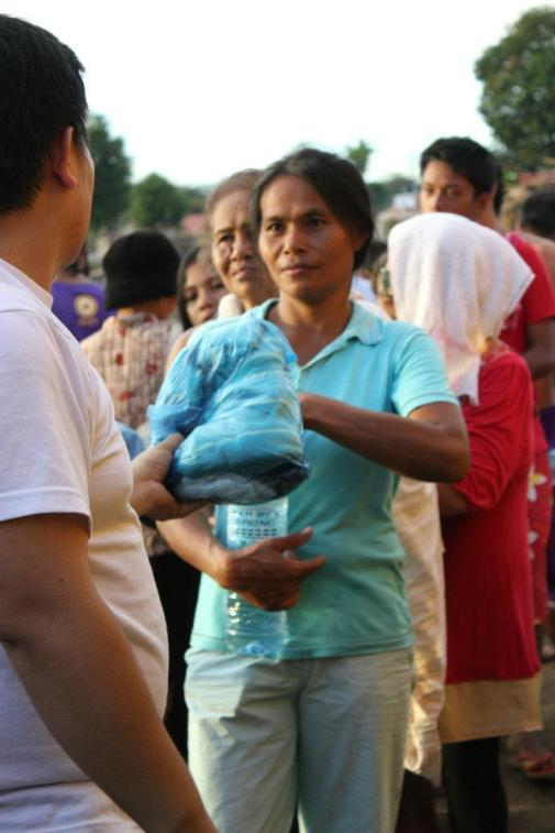 this photo was taken at Tibasak Cagayan de Oro City during relief operations for the victims of Typhon Sendong