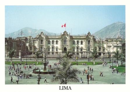 Peru - Lima, Goverment Palace aka Pizarro's House
